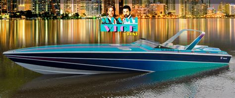 new miami vice boat miami vice 1986 wellcraft 38kv scarab to headline show