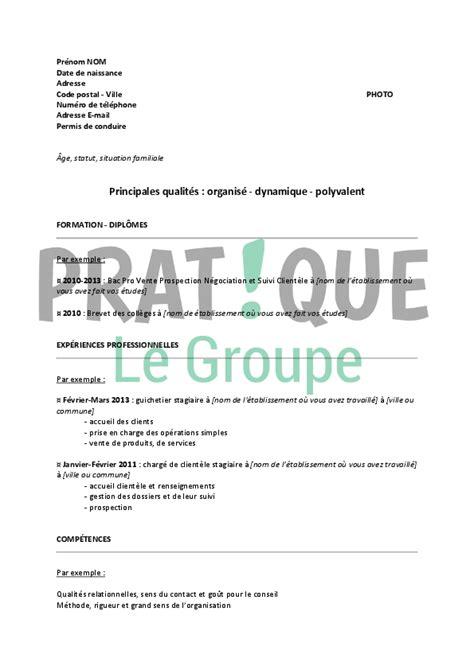 Modèle De Lettre Pour Un Notaire resume format mod 232 le cv banque