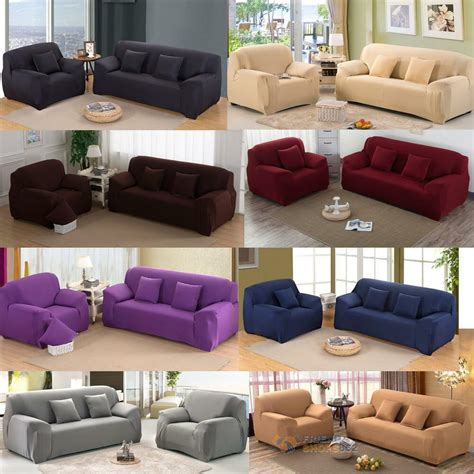 Sofa Pillow Covers by New Stretch Slipcover Chair Seat Sofa Futon