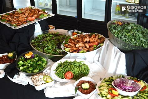 Classic Salad Bar With Beautiful Setup From Arguello Best Buffet Salads