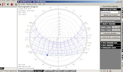 sun path diagram sketchup exploring autodesk s ecotect