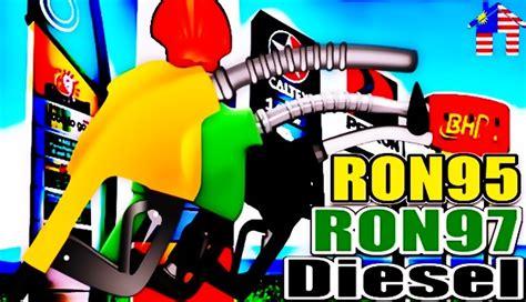 Minyak Naik Mac harga minyak petrol dan diesel terkini dari 29 mac hingga