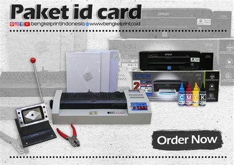 Printer Id Card Murah paket id card bengkel print indonesia
