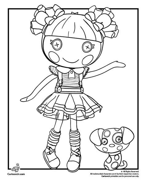 lalaloopsy christmas coloring page lalaloopsy doll coloring page v 228 rityskuvat pinterest