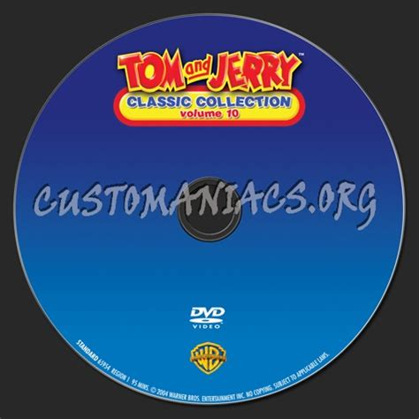 classic collection volume 4 tom and jerry classic collection volume 10 dvd label dvd covers labels by customaniacs id