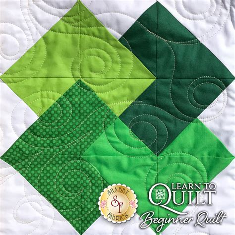 learn to quilt series beginner quilt kit