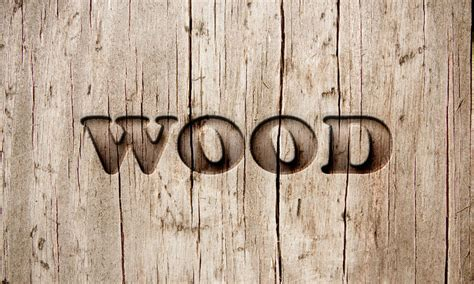 photoshop tutorial logo in wood wood text effect in photoshop dreamstale