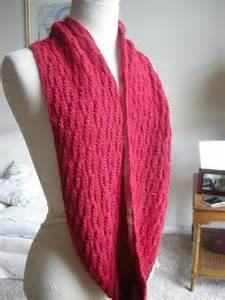Knitted Infinity Cowl Pattern Breeanelyse Beautifully Simple Knitting Free