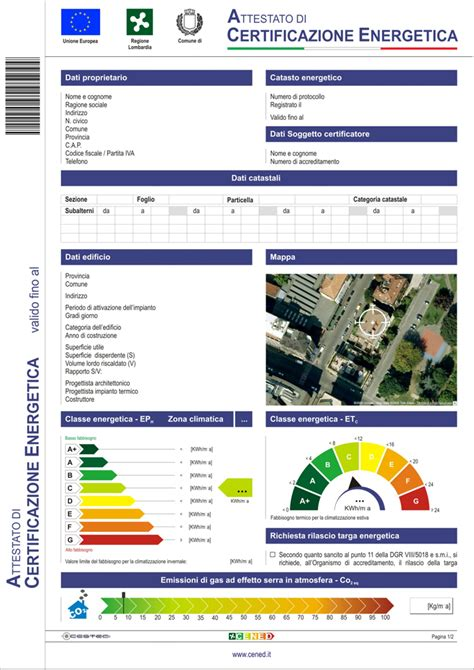 certificato energetico appartamento ape certificazione energetica varese monza bergamo