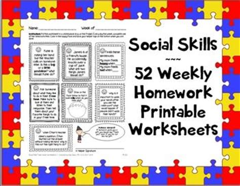 social skills handbook for autism activities to help learn social skills and make friends books 17 best images about social skills on problem