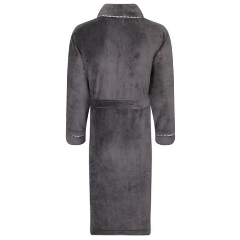 men s house robes mens luxury dressing gowns fleece bath robes house coat robe belt size s xl ebay
