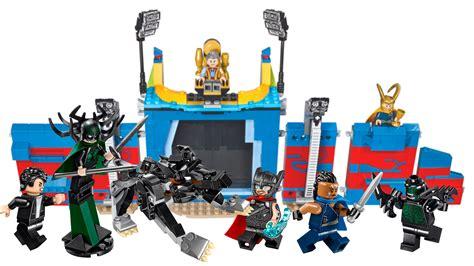 New Set lego is rocking two new thor ragnarok sets kotaku australia