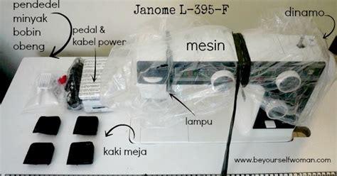 Mesin Jahit Janome Paling Bagus mesin jahit 2 unboxing janome l 395f dan cara memulainya