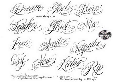tattoos designs names cursive cursive letters for tattoos about lettering tribal