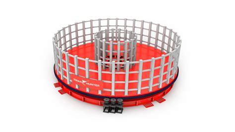 Modular Carousel 2000te 7000te modular basket carousel equipment