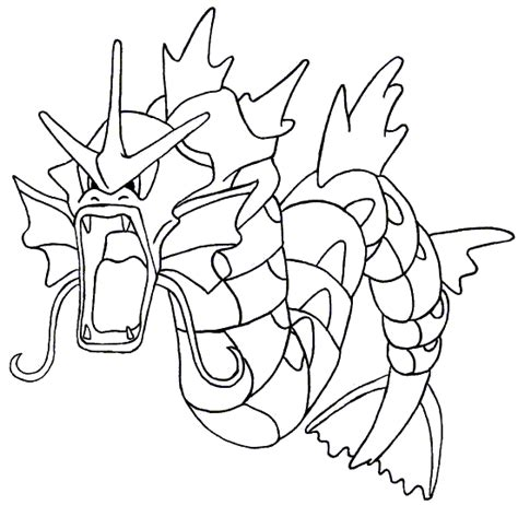pokemon coloring pages magikarp pokemon gyarados coloring pages sketch coloring page