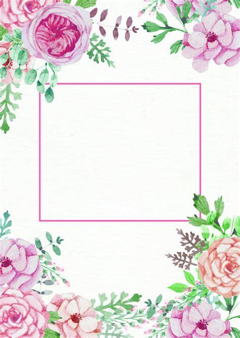 convite de casamento flores em aquarela cart 227 o de convite de casamento convite de aquarela de