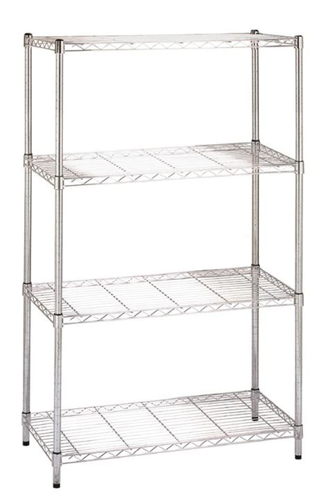 chrome plated wire shelves modular adjustable wire