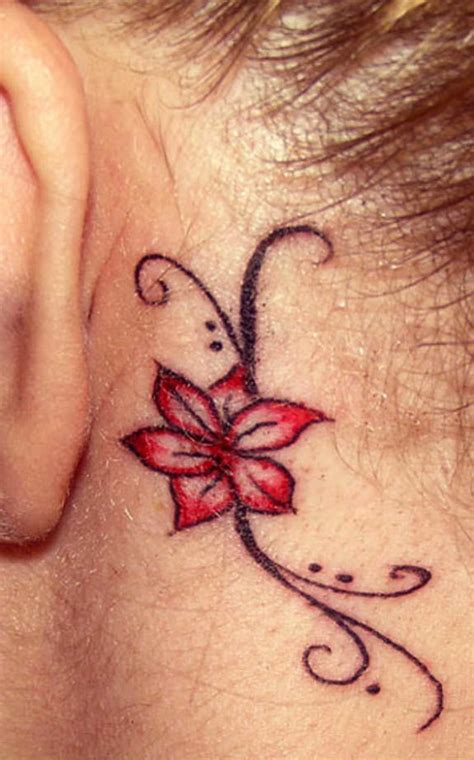 umbrella tattoo behind ear 45 tattoos behind ear for endless beauty and cuteness