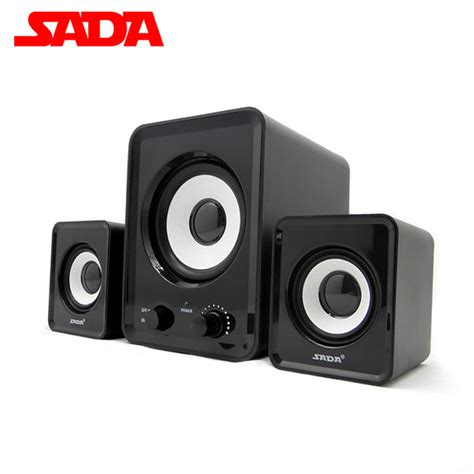 Speaker Active Mini sada d200a laptop altavoces altavoz desktop pc computer speakers active audio mini speaker 2 1