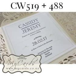 Wedding Card New Zealand by Mycards Wedding Invitations Auckland New Zealand