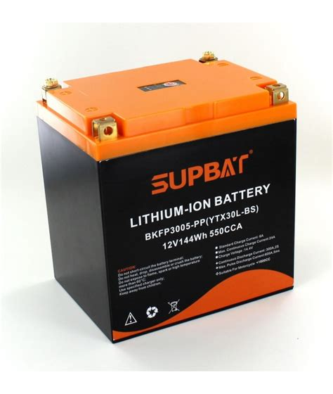 Batterie Moto 12v 6315 by Battery Li Ion 12v 12ah 144wh Motorcycle Type Ytx30l Bs
