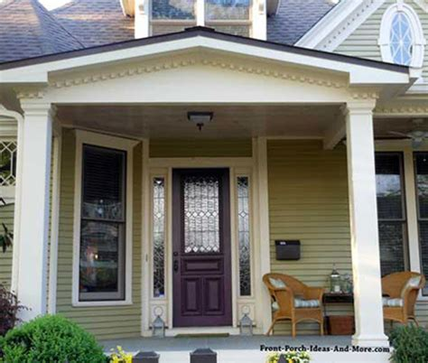 Front Gable Roof Small Porch Small Front Porch Small Porch Plans
