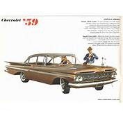 Directory Index Chevrolet/1959 Chevrolet Brochure