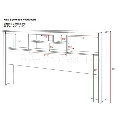 Bookcase Headboard King Plans Woodworking Projects Plans