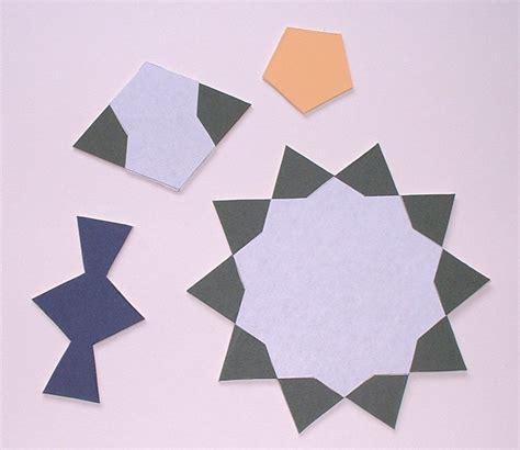pattern figure types a penrose type islamic interlacing pattern