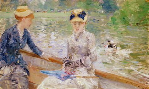 Berthe Morisot In The Dining Room by L Exposition Berthe Morisot Du Mus 233 E Marmottan Monet
