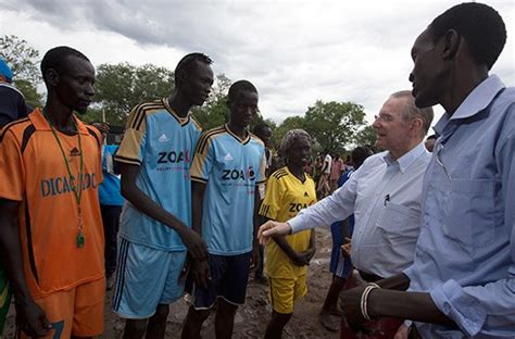 unhcr south sudan employment rogge pledges to increase sporting opportunities for