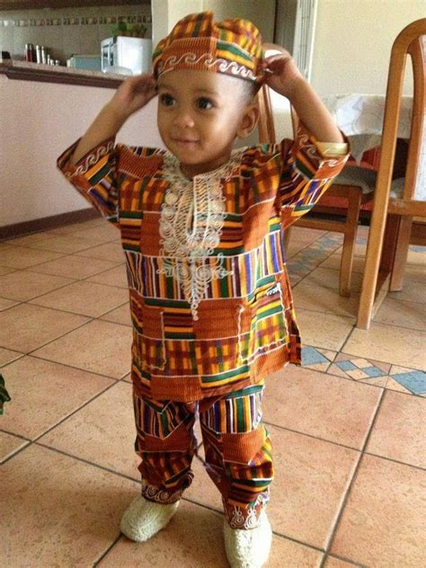 nigerian style clothes boy street style of the day children in ankara african prints