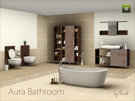 sims 3 bathroom gosik s aura bathroom
