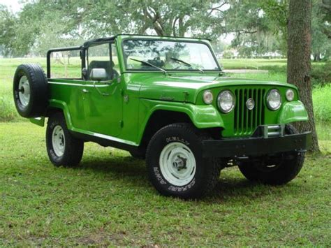 1970 jeep commander 1970 jeep jeepster commando information and photos