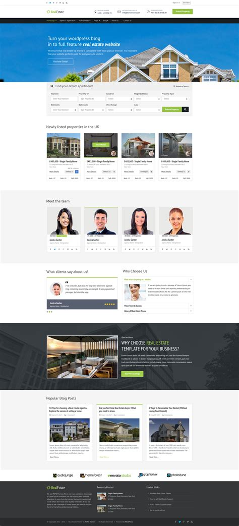property listing website template property listing no 1 real estate psd template by