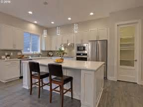 Kitchen Island Stool Contemporary Kitchen With Undermount Sink Amp Pendant Light