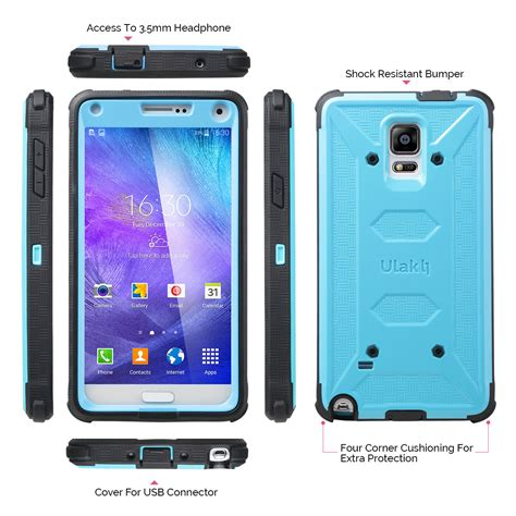 Samsung Note 3 Note 4 Armor 2017 Shockproof ulak armor hybrid rugged shockproof cover for samsung galaxy note 4 ebay