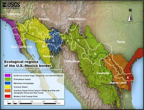 december 2009 geo mexico the geography of mexico geography 7 jennifer webb ecological regions of the u s