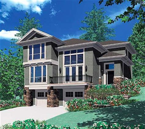 front sloping lot house plans house plans and design modern house plans for sloped lots
