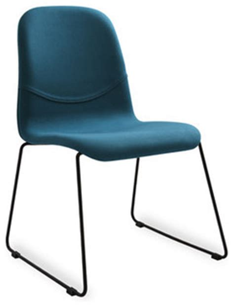 2 x teal fabric metal dining chair contemporary