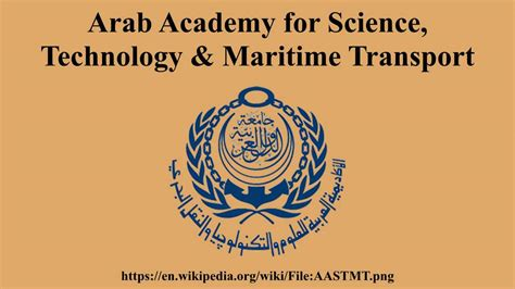 Arab Academy For Science Technology And Maritime Transport Mba by Arab Academy For Science Technology Maritime Transport