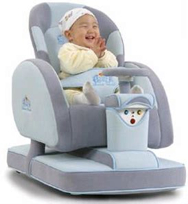 Baby Reclining Chair by Bomo Robot Baby Carriage Ohgizmo