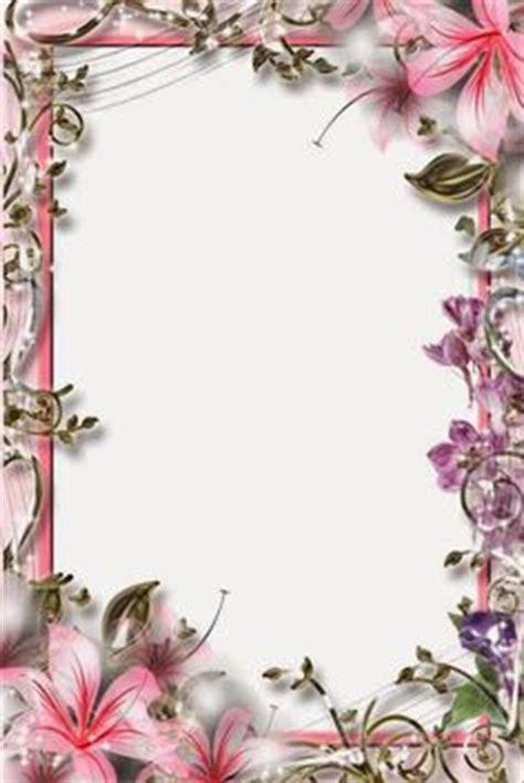 Frame Photo Meja Cantik Bunga Pink transparent frames beautiful pink transparent frame with butterflies frames flowers