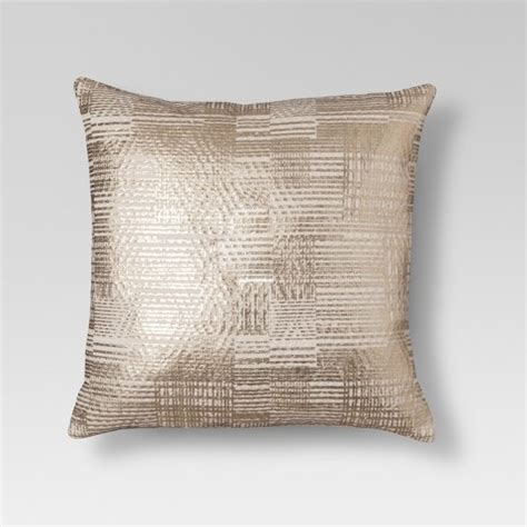 Gold Foil Throw Pillow Threshold Target Target Sofa Pillows