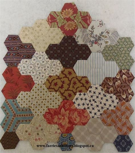 Hexagon Patchwork Patterns Free - 1172 best quilts epp hexagons other kinds of hexagons