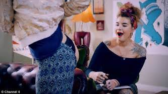 tattoo fixers on channel 4 sees woman swap keith lemon for