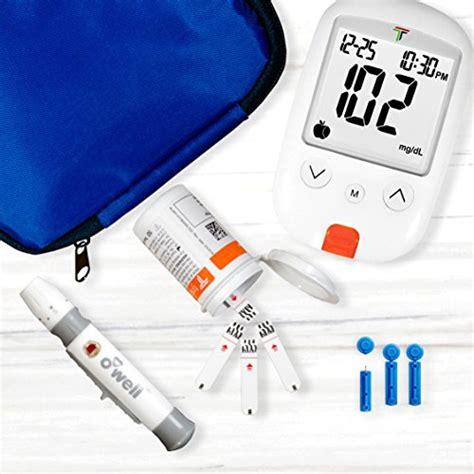 owell diabetes testing kit  count tyson meter