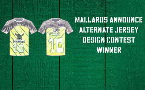 jersey design contest mallards announce winner of alternate jersey design
