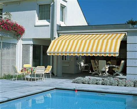 bistro awning yellow stripe awning french bistro pinterest